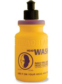 rengöring för rakat huvud