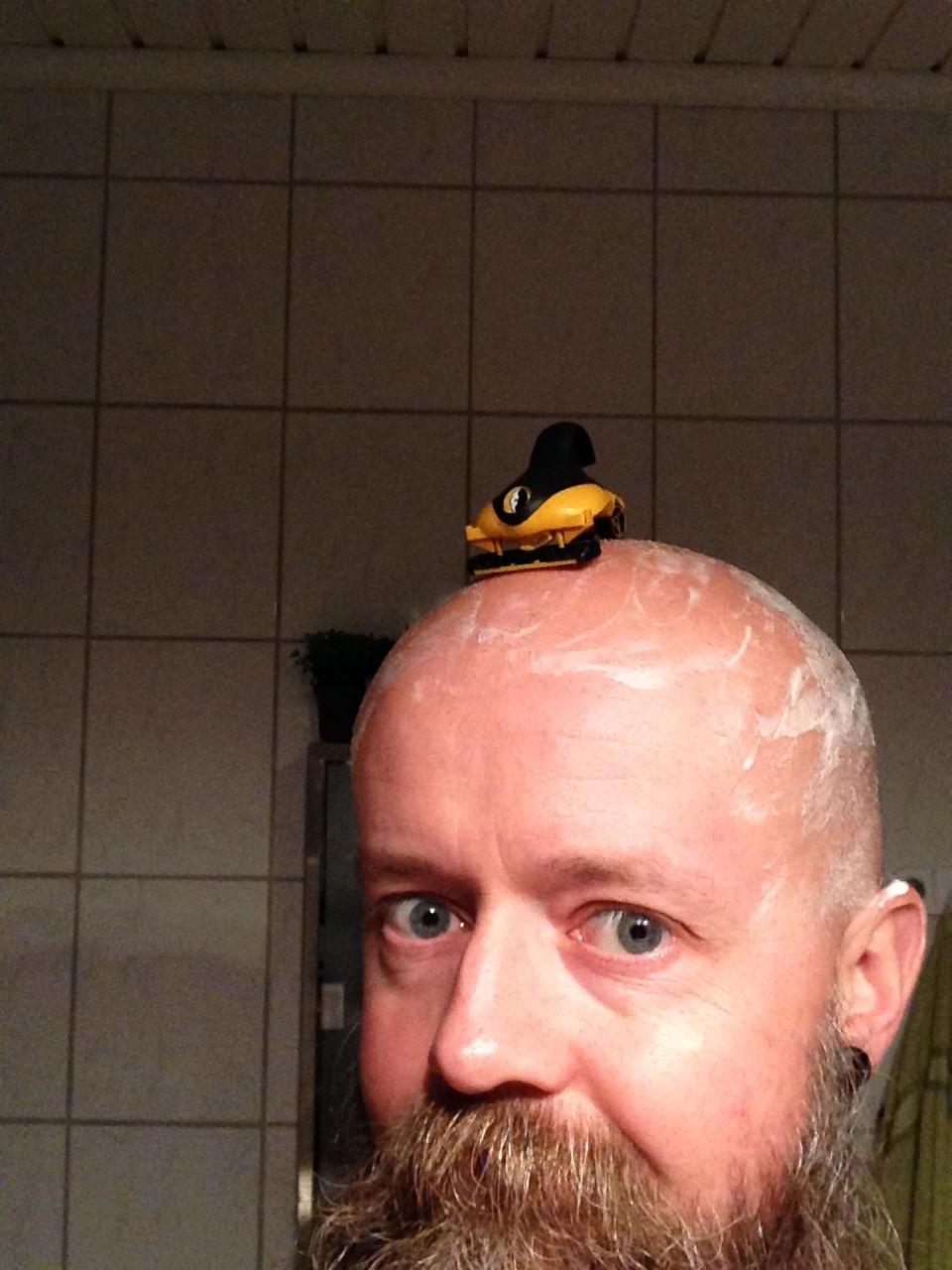 rakapparat till huvudet