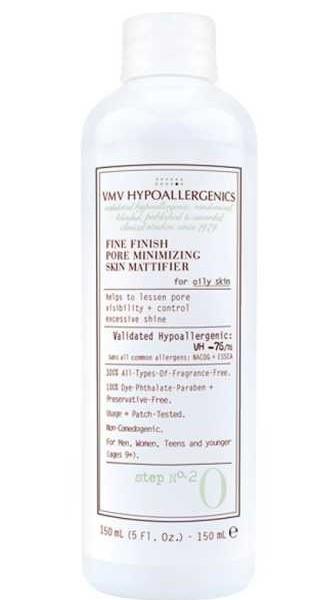 Recension av VMV Hypoallergenics porsammandragande ansiktsvatten
