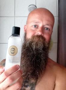 recension av beardition skägg schampo