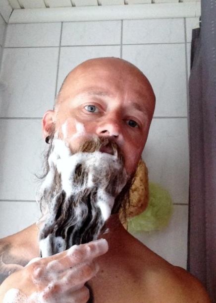 recension av beardition schampo för skägg