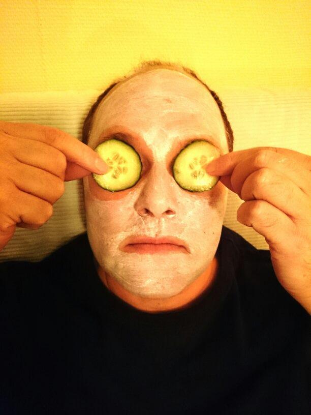 recension ansiktsmask