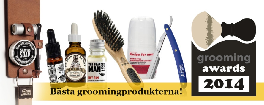 grooming awards 2014