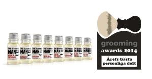 grooming awards 2014 personliga doft produkt