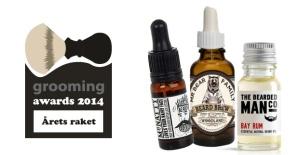 grooming awards 2014 raket produkter