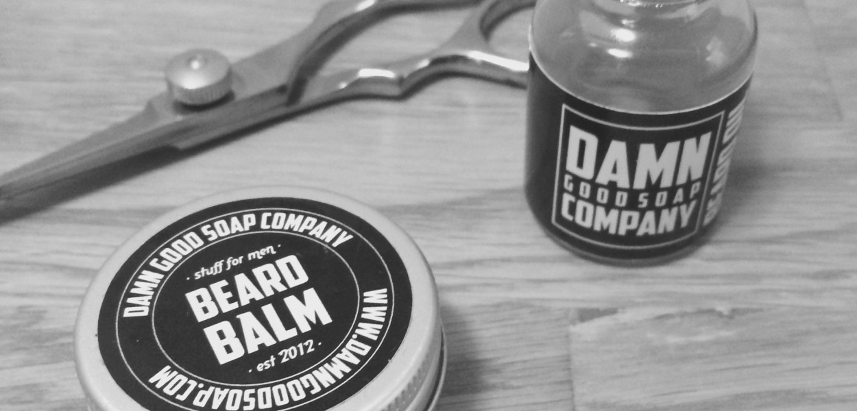 recension damn good soap company beard balm