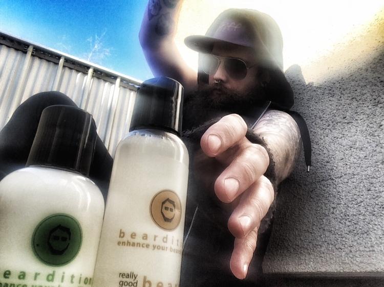 beardition skäggschampo skäggbalsam