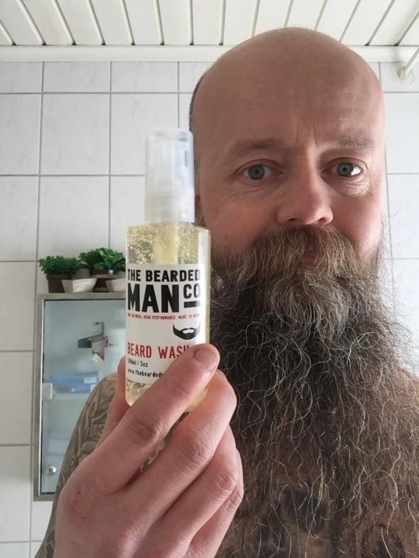 The Bearded man shampo