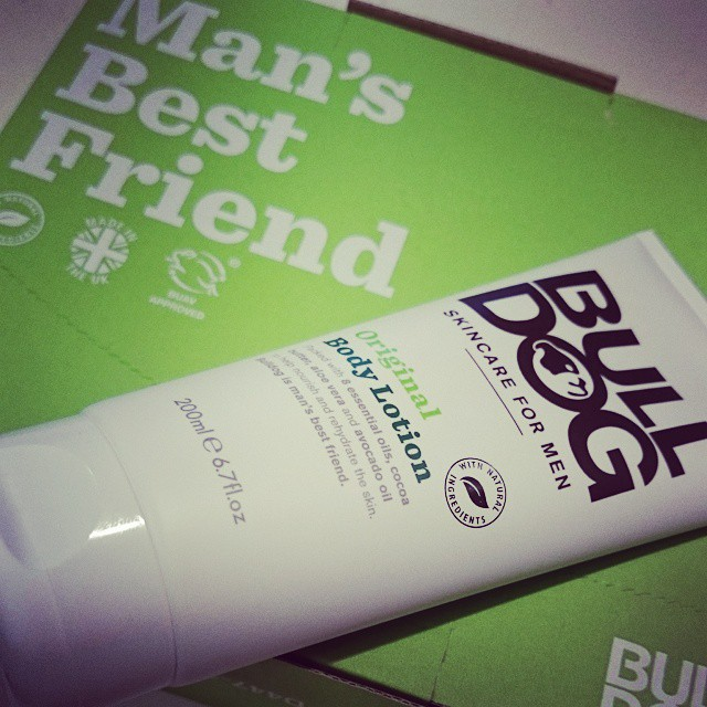 recension bulldog bodylotion
