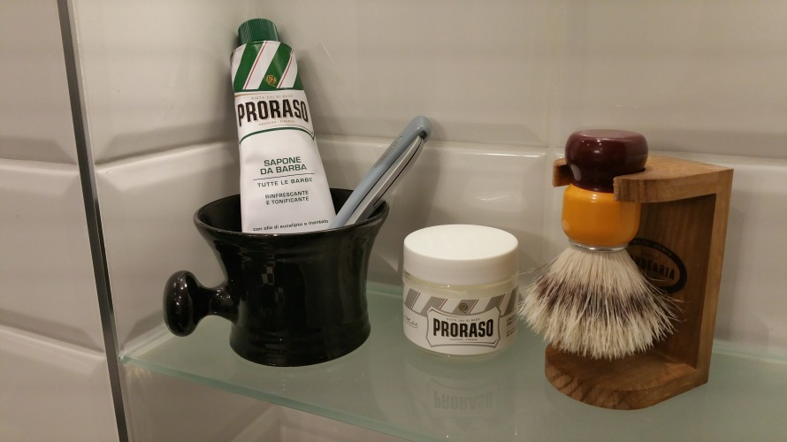 recension proraso shaving cream