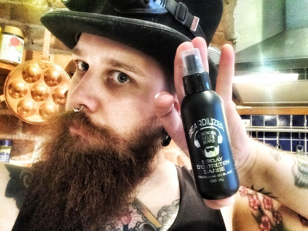 beardilizer beard spray