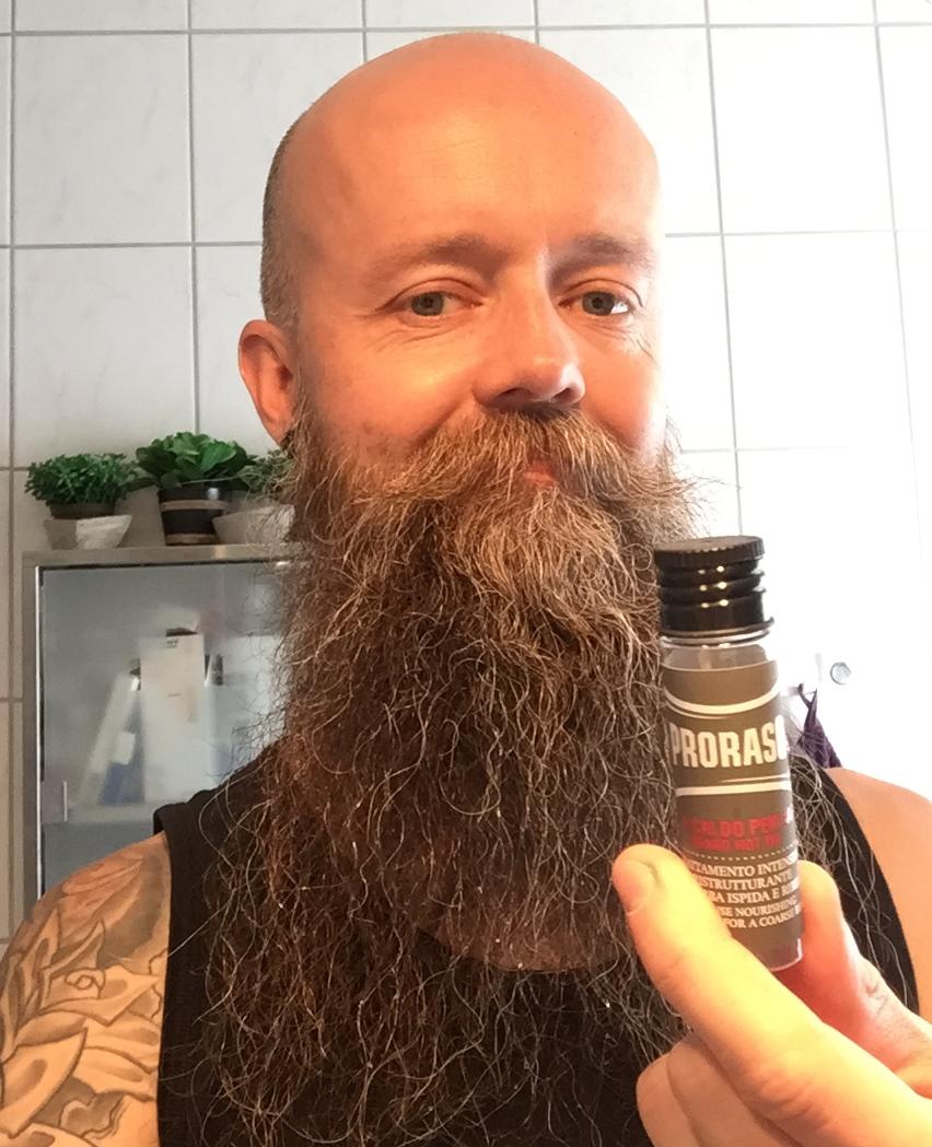recension proraso skäggkur
