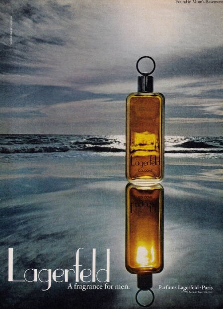 lagerfeld 1979 cologne ad