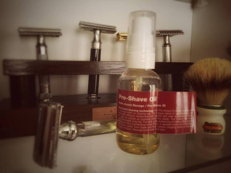recension recipe for men shave oil