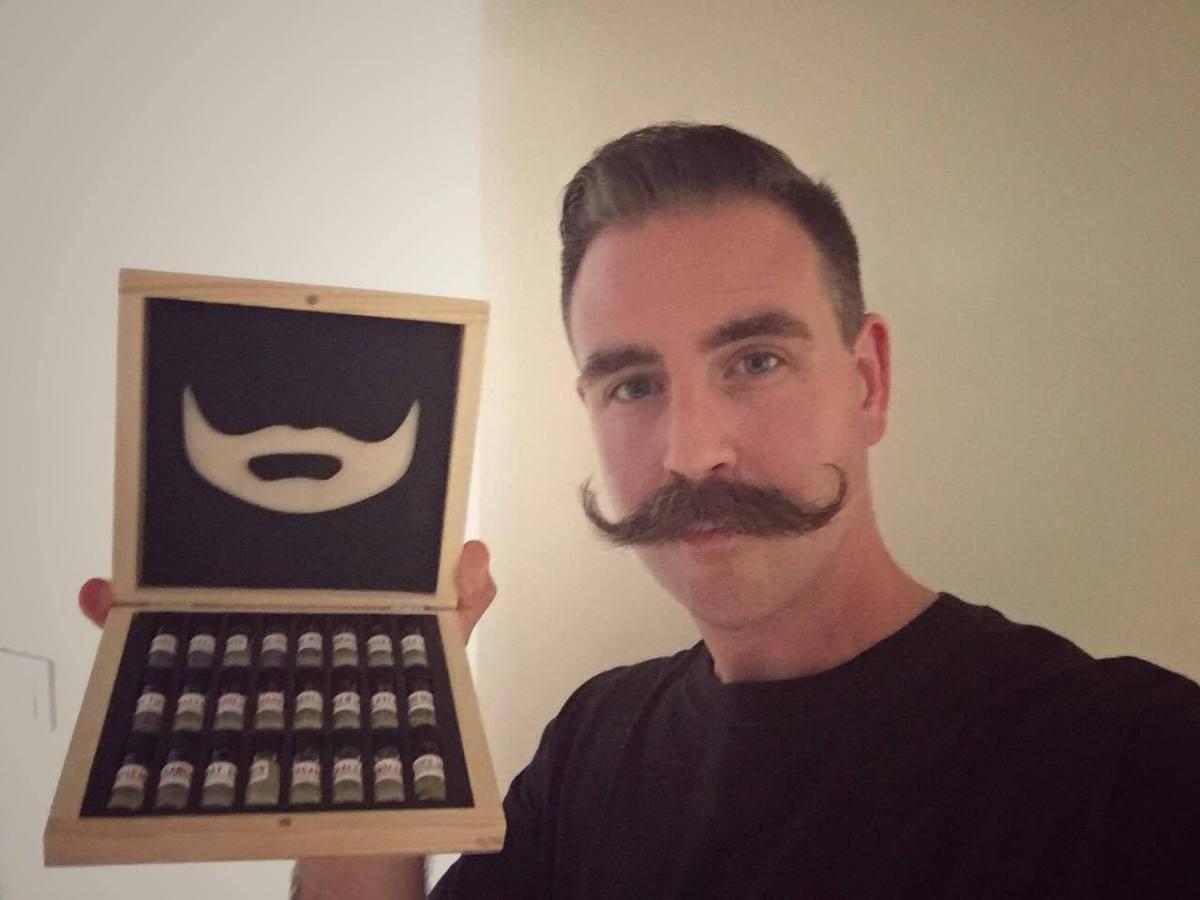 En adventskalender - för skägg!