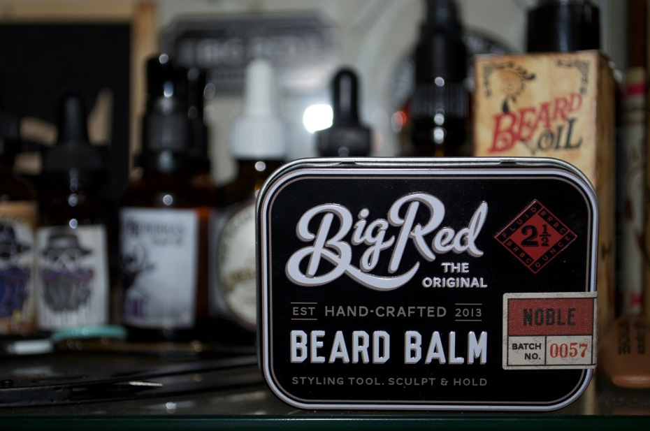 recension beard balm big red noble