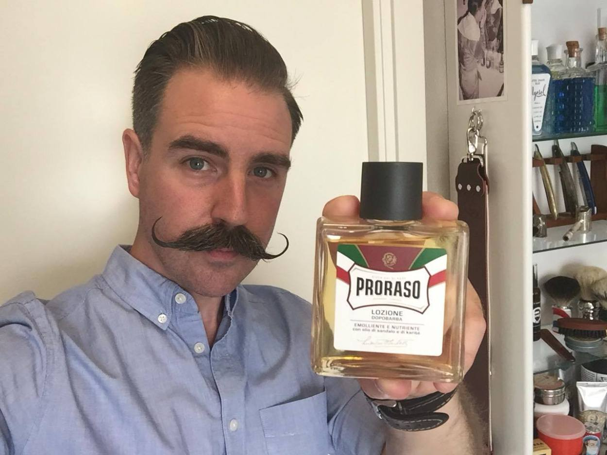 recension proraso after shave sandalwood
