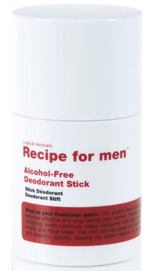 recension deostick recipe for men
