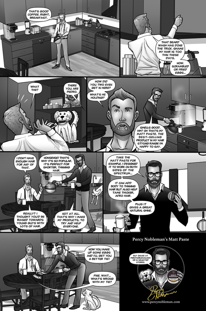 comic strip percy nobleman matt paste