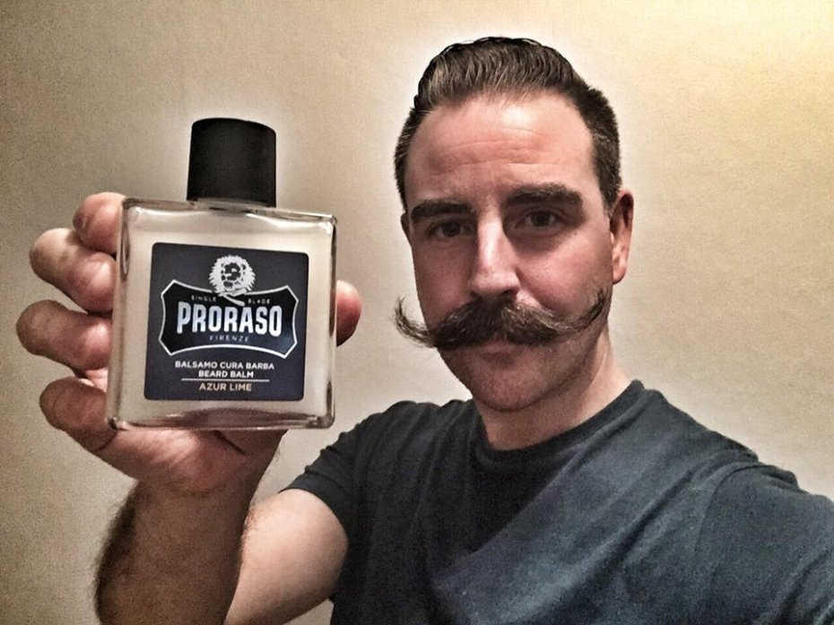 recension proraso beard balm Azure Lime