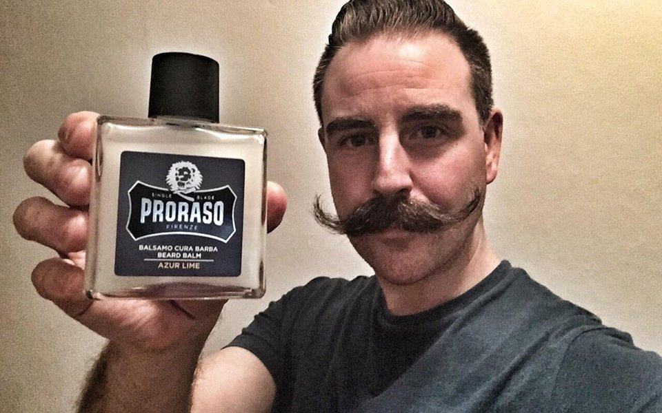 recension proraso beard balm Azure Lime