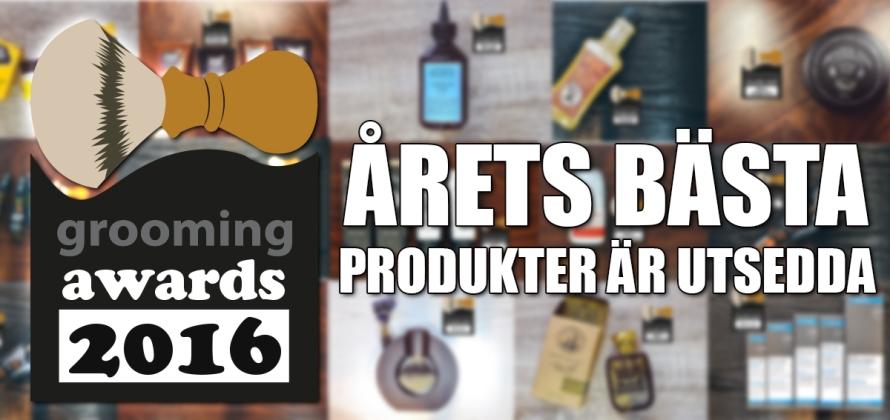 årets bästa groomingprodukter