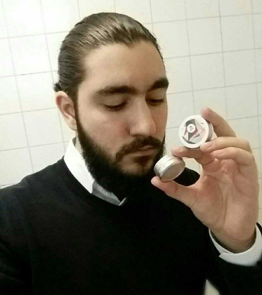 testpilotsrecension skäggvax
