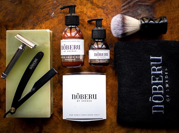 recension noberu shaving amber lime