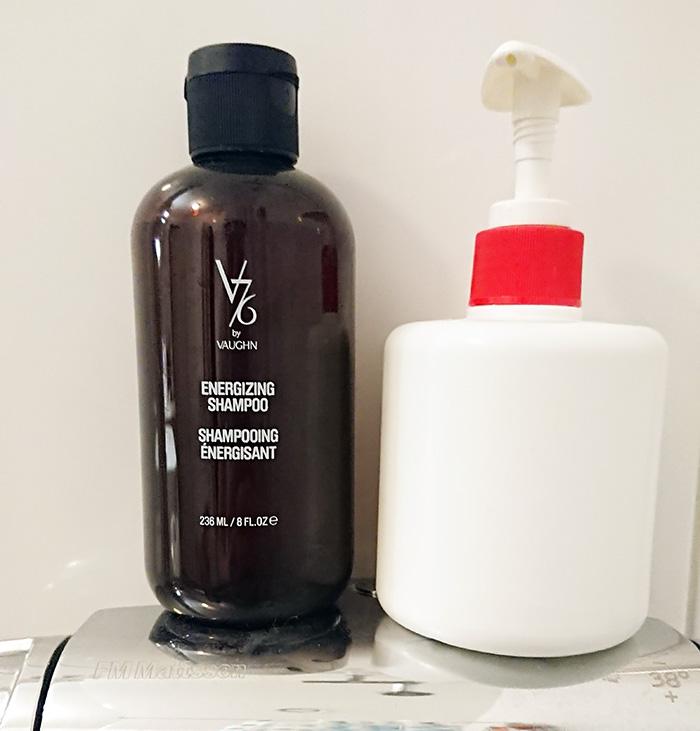 testpiloterna v76 energizing shampoo