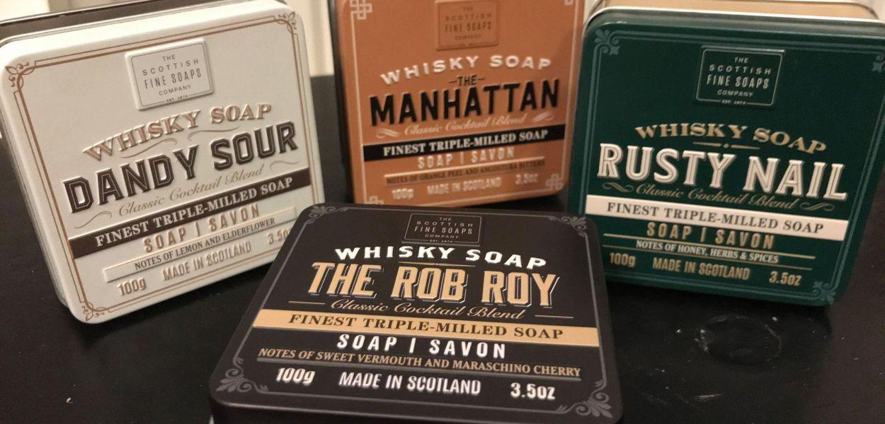 recension kroppstvål whisky doft