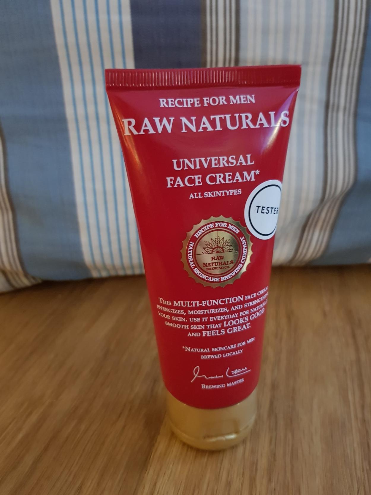 recension naturlig hudvård för män