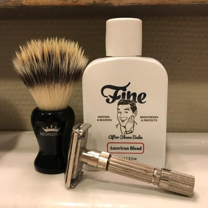 recension after shave balm mr fine